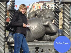 Памятник казанскому коту