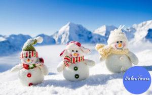 Новогодние каникулы в России и Европе