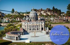 Парк миниатюр в Римини. Italia in Miniatura