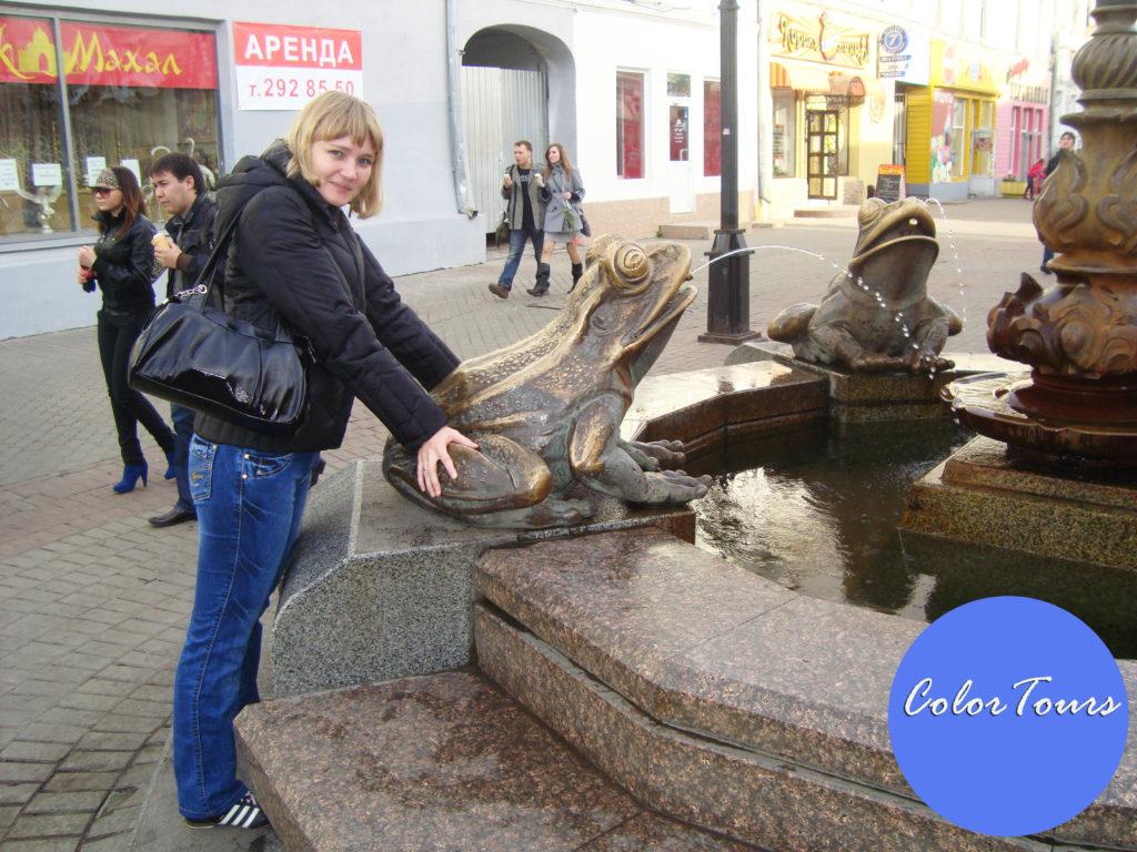 Фонтан в Казани