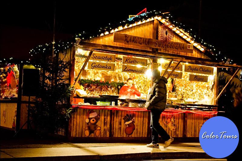 Рождество в Варшаве