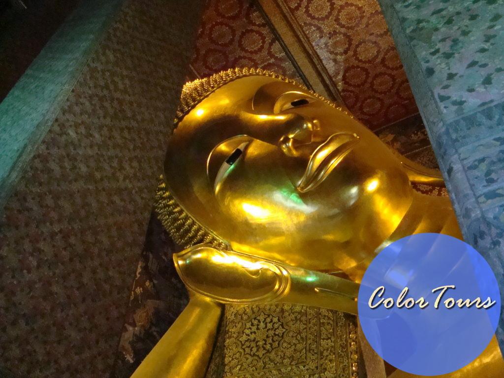 Лежащий Будда в Бангкоке