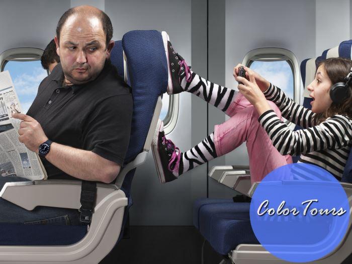Что делать в самолете с детьми?