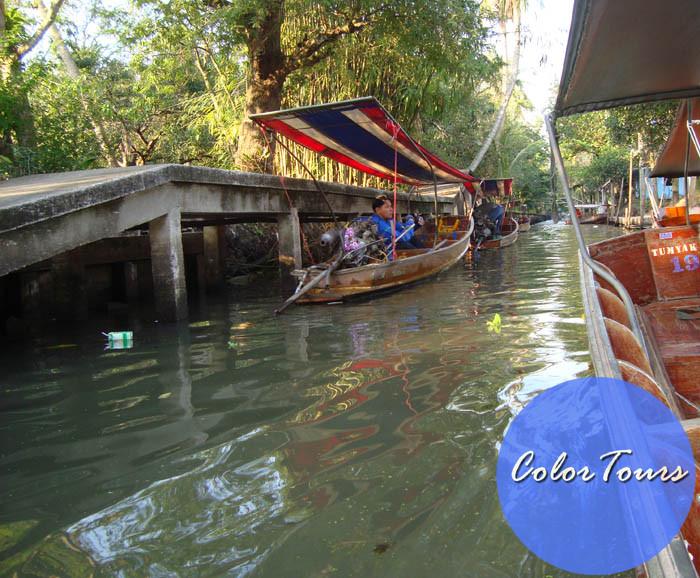 Плавучая деревня Таиланд