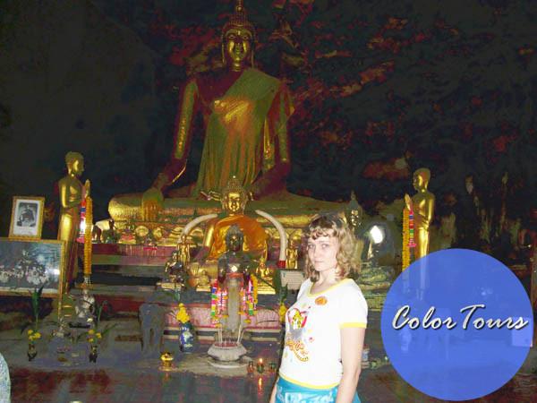 Пещерный Будда Таиланд