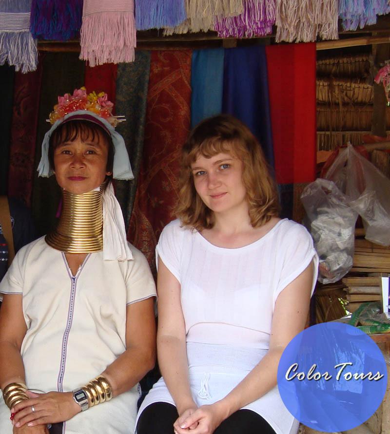 Деревня длинношееих женщин