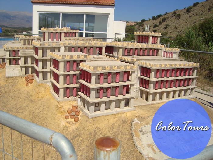 Кносский дворец в миниатюре