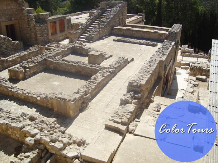 дворец Минотавра на Крите