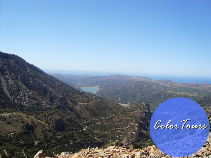 Дорога на плато Лассити Крит