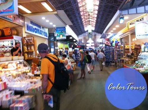 Городской рынок Ханьи Крит
