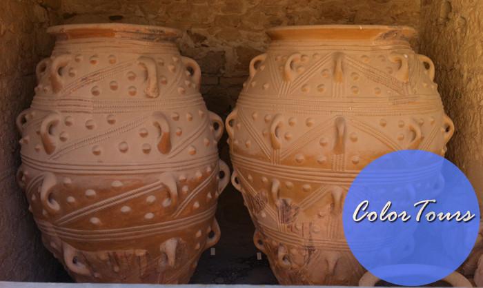 Убранство Кносского дворца на Крите