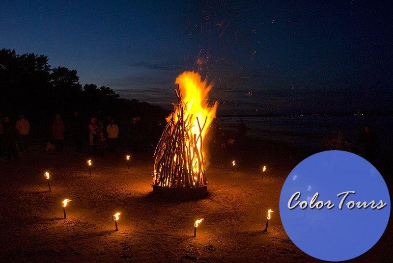 Праздник в Греции посвященный огню