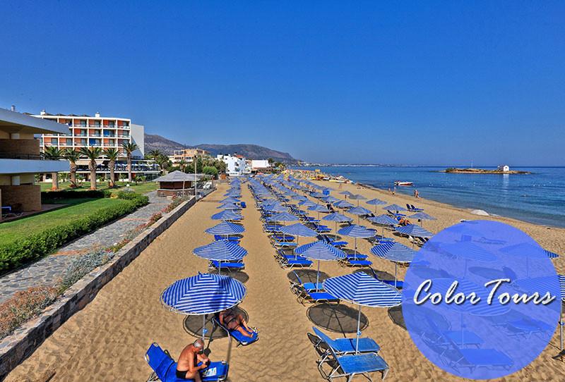 Пляжи Малии Крит