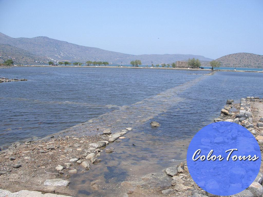 Затонувший город Олус на Крите