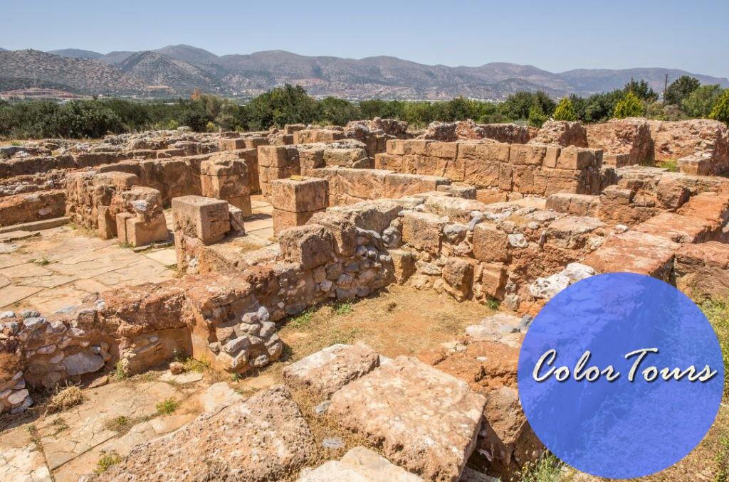 руины малийского дворца Крит