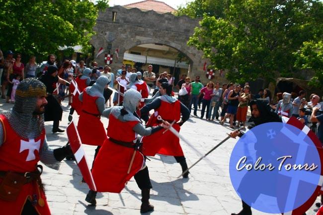 фестиваль роз в Греции