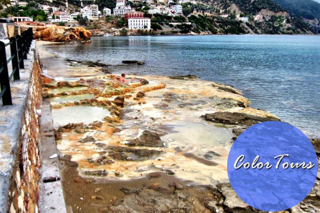 эдипсос курорт в Греции