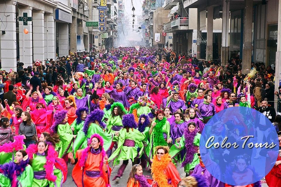 Фестиваль оливкового масла в Греции