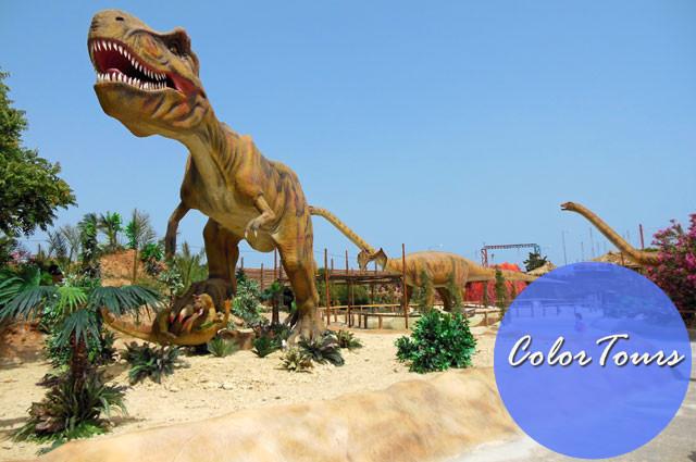 Парк динозавров на Крите