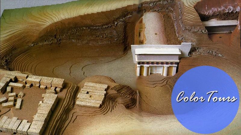 Гробницы и музей Вергины в Греции