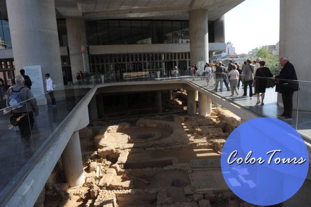 Новый музей Акрополя в Греции