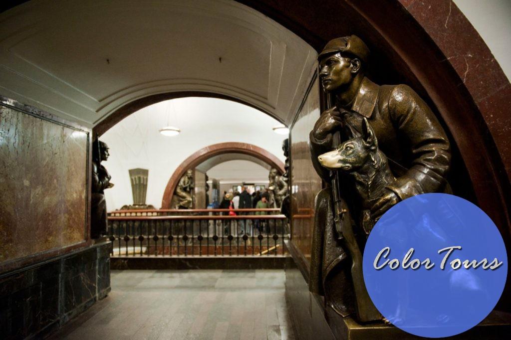 Какие станции метро посмотреть в Москве - Площадь революции