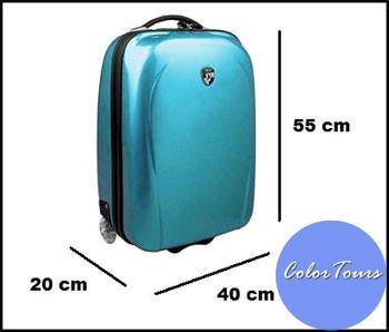 размеры чемодана в ручную кладь
