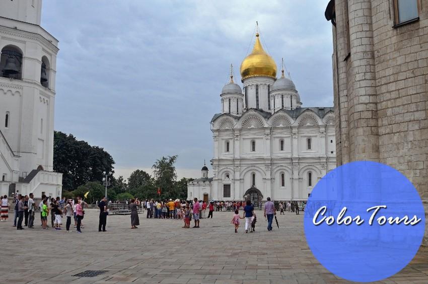 Что посмотреть на Красной площади в Москве - Соборная площадь