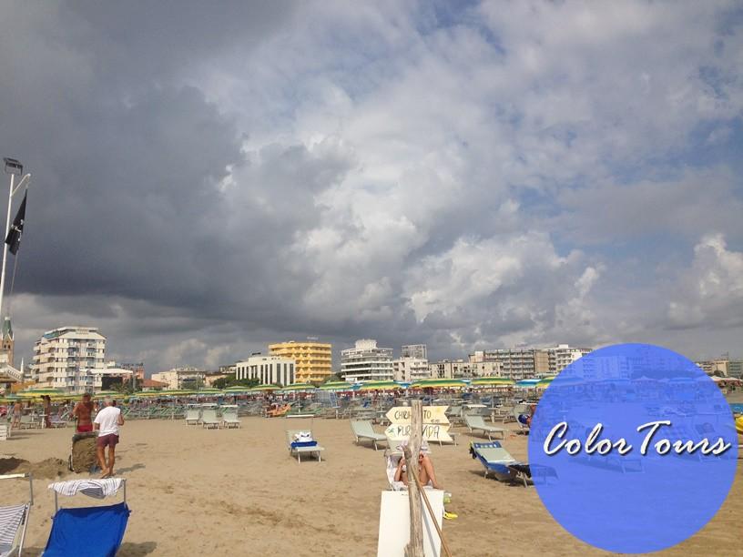 Какие пляжи в Римини