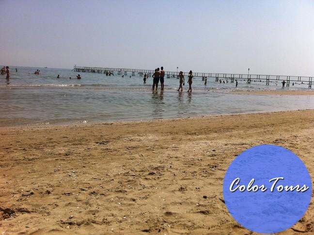 Пляжи Римини глубина