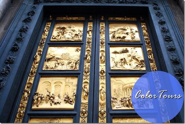 двери Басистерия Сан-Джован во Флоренции