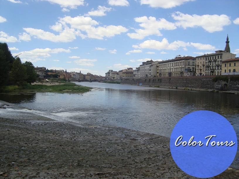 набережная Арно во Флоренции