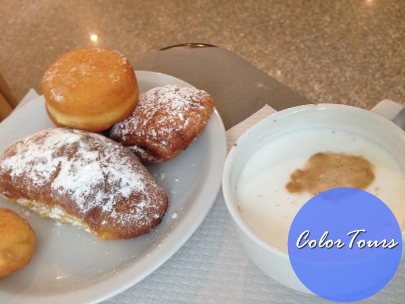 Завтраки в отеле Junior Римини