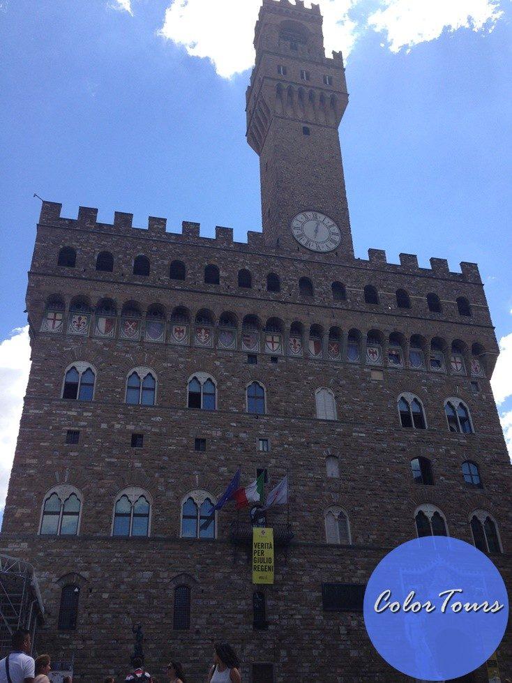 площадь Синьории во Флоренции