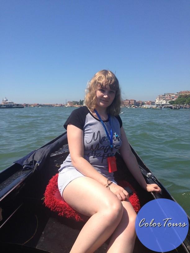 Прогулка на гондолах по Венеции