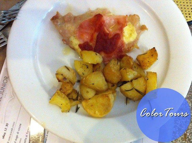 Еда в отеле Junior Римини