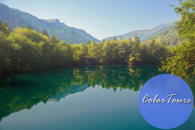 озеро Чирек-Кёль на Кавказе