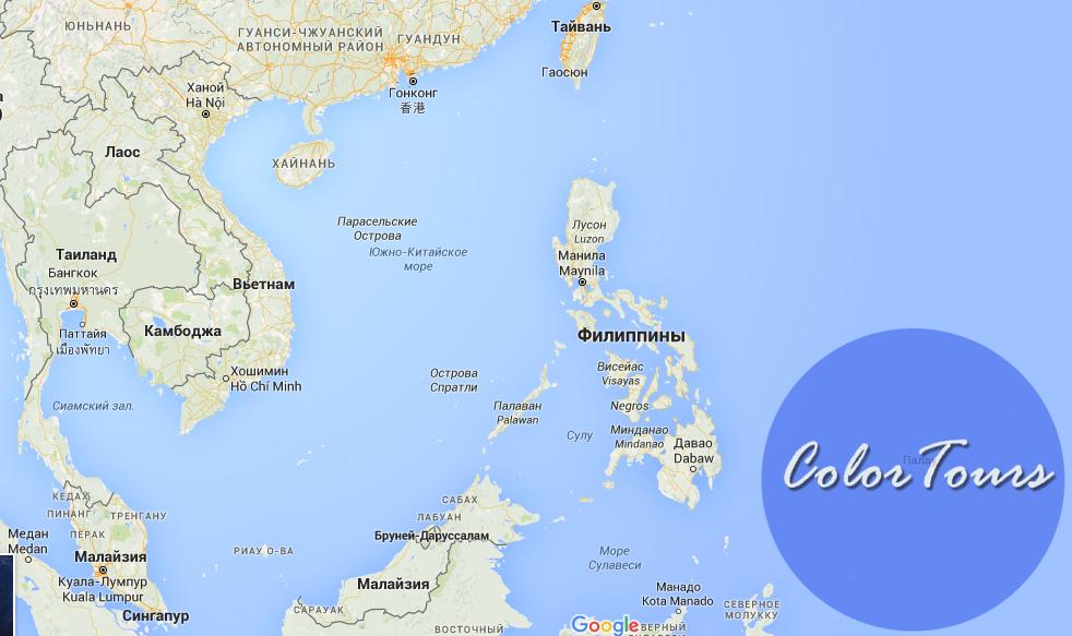 Как передвигаться между островами на Филиппинах