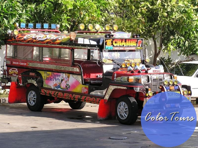 jeepney на Филиппинах