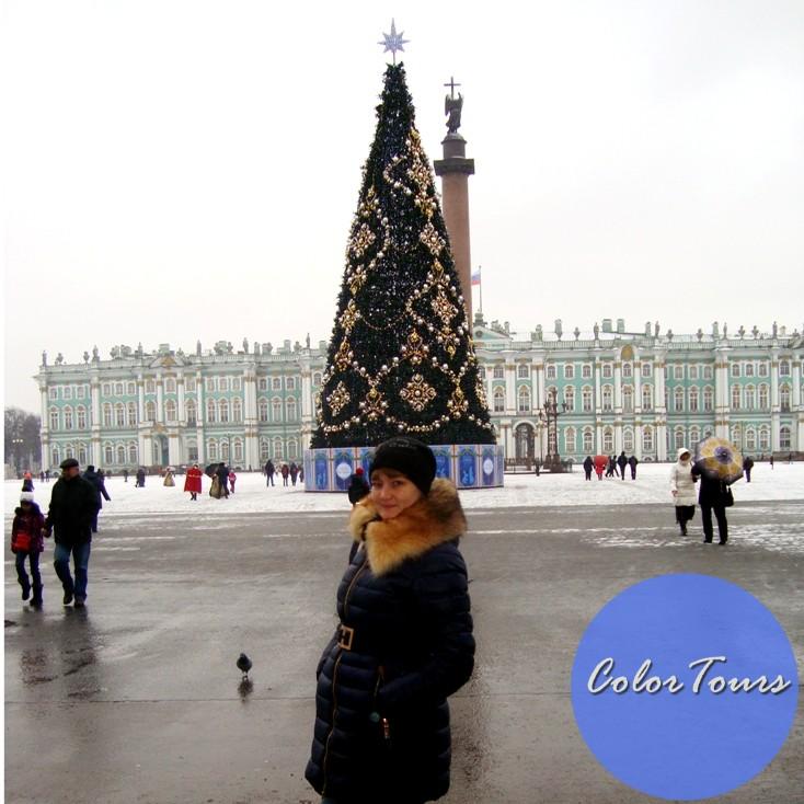 Эрмитаж на новогодние праздники