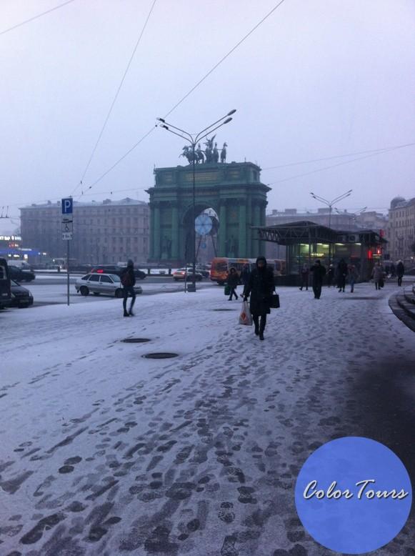 Зимой в Санкт-Петербург