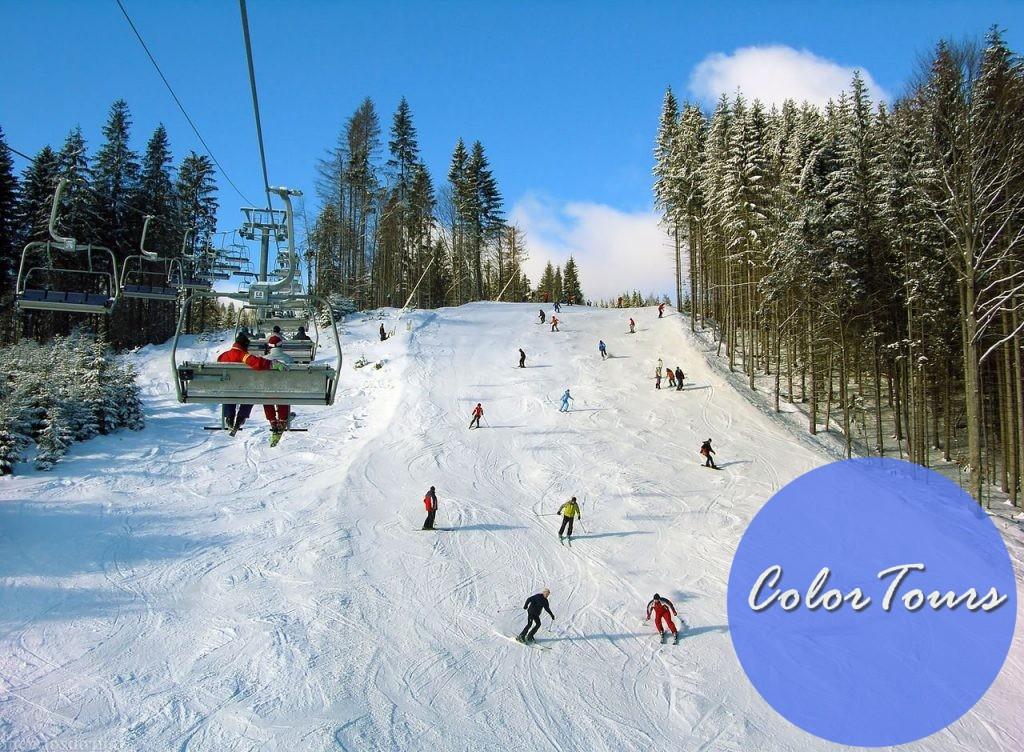 Абзаково горнолыжный курорт в Башкирии