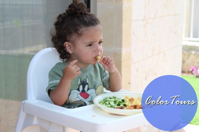 Еда для ребёнка в дорогу