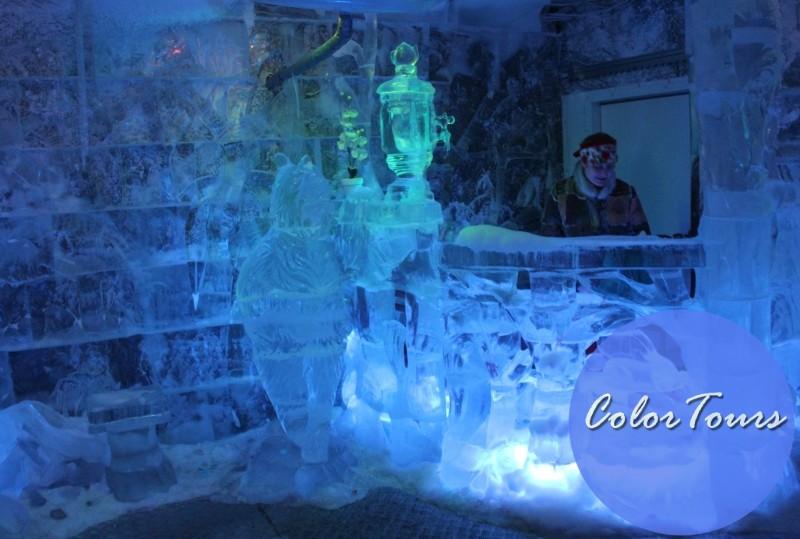 Ледяная комната в доме Снегурочки