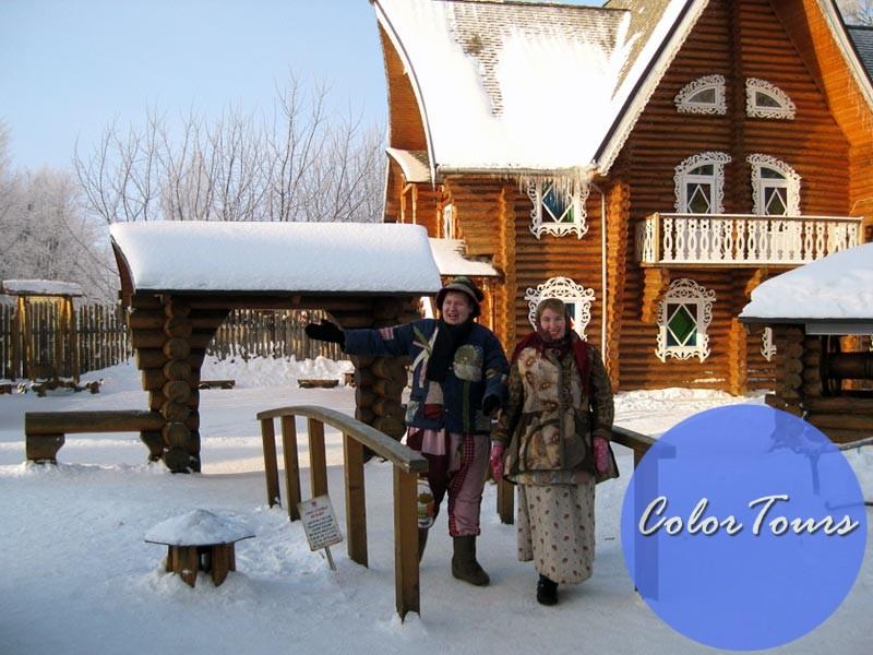 Дом Снегурочки в Костроме