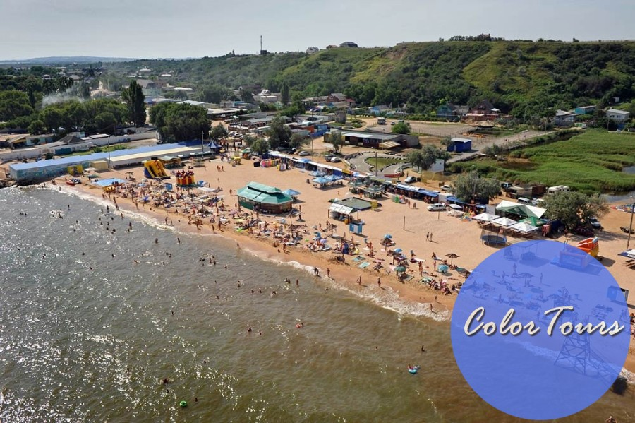 Пляжи станицы Голубицкая