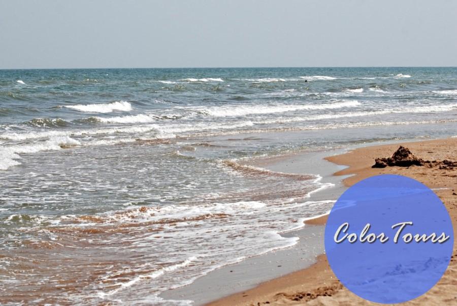 Посёлок Кучугуры на Азовском море