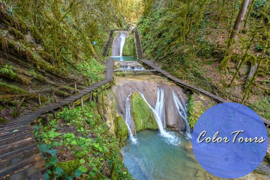 экскурсии из Лазаревского 33 водопада