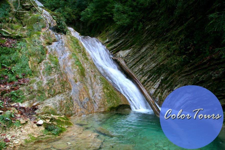 Экскурсии из Лазаревского водопад Чудо Красотка