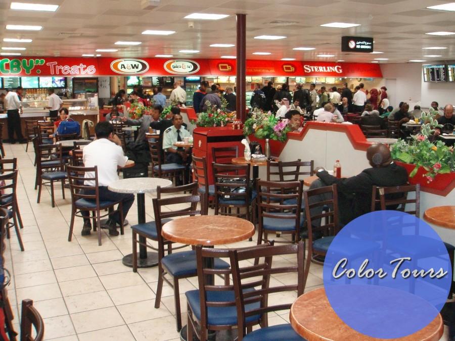 Где поесть в аэропорту Дохи